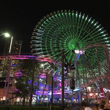 横浜コスモワールドの景色